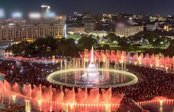 romania fountains