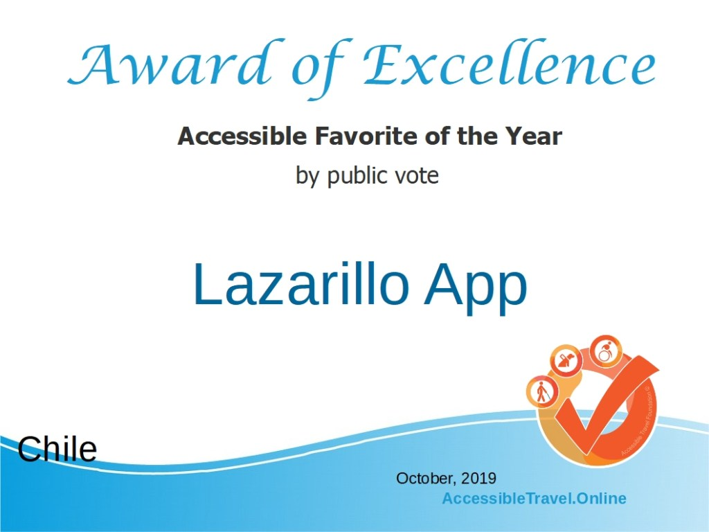 Accessible Favorite - the Lazarillo app