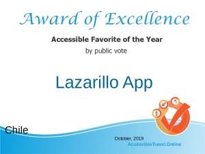 Accessible Favorite - the Lazarillo app