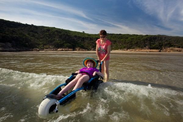 beach wheelchair victoria australia