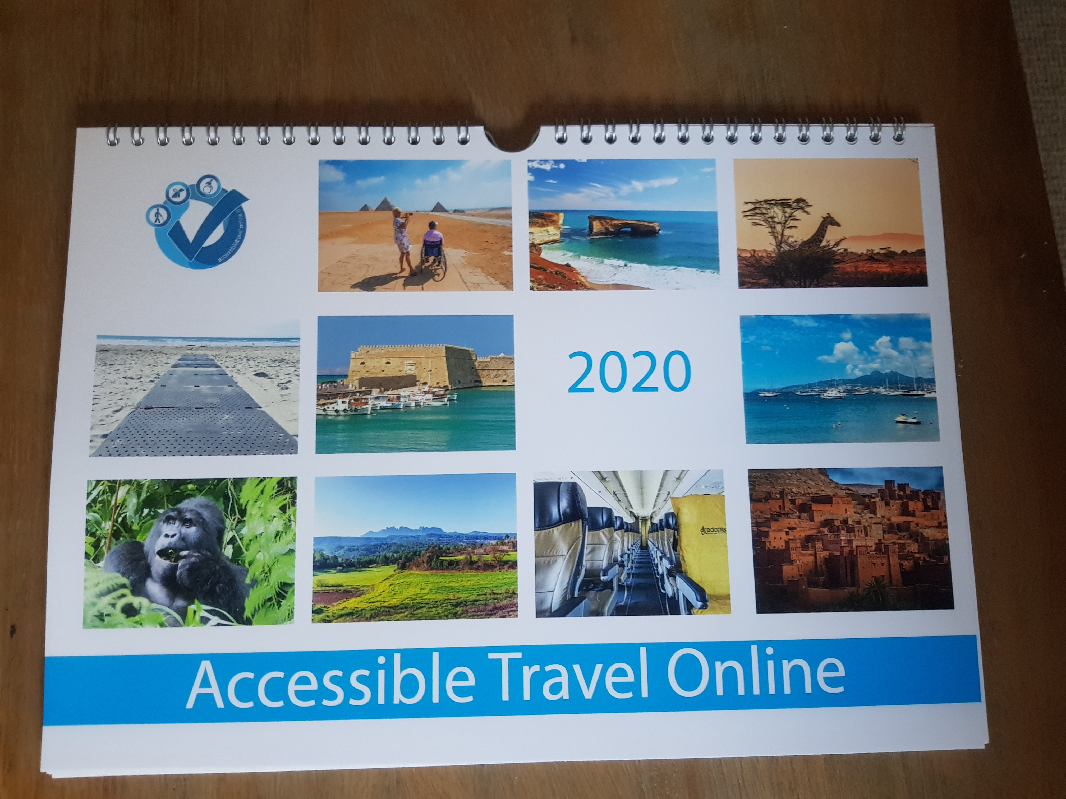 Accessible Travel Online calendar 2020