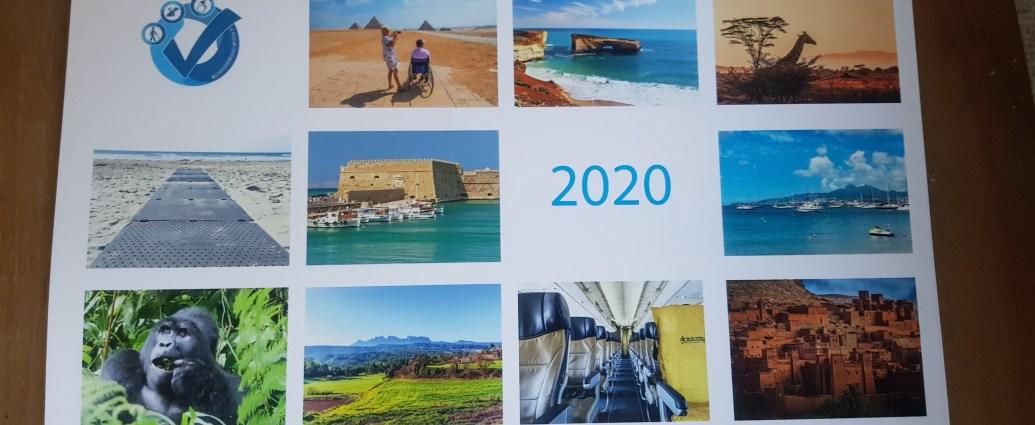 accessible travel calendar 2020