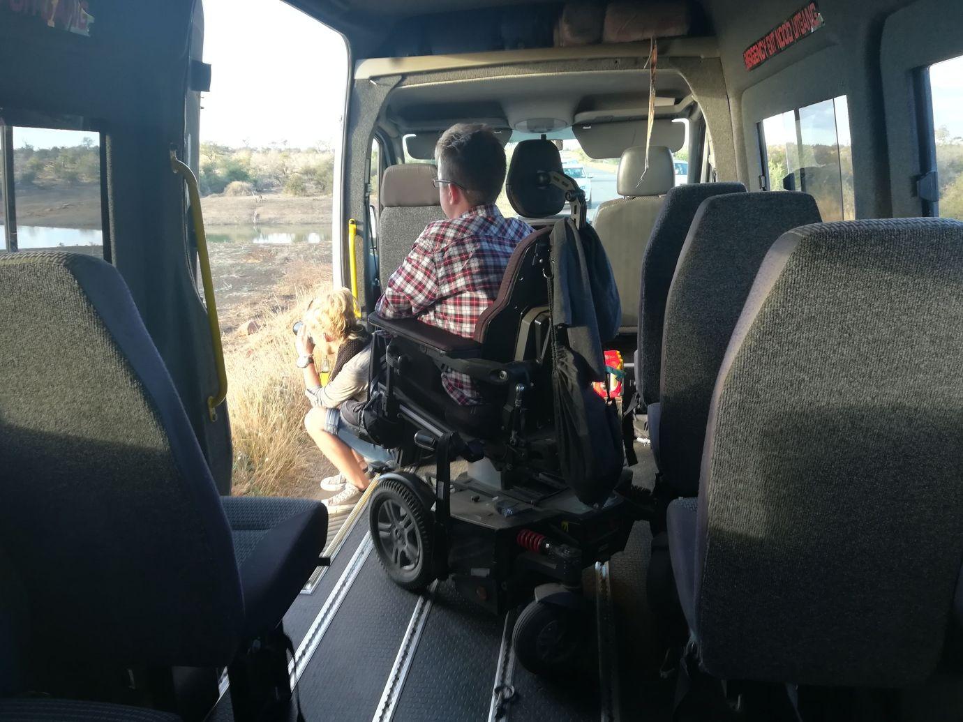 safari south africa game view