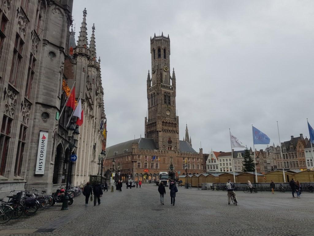 Belgium Bruges market square