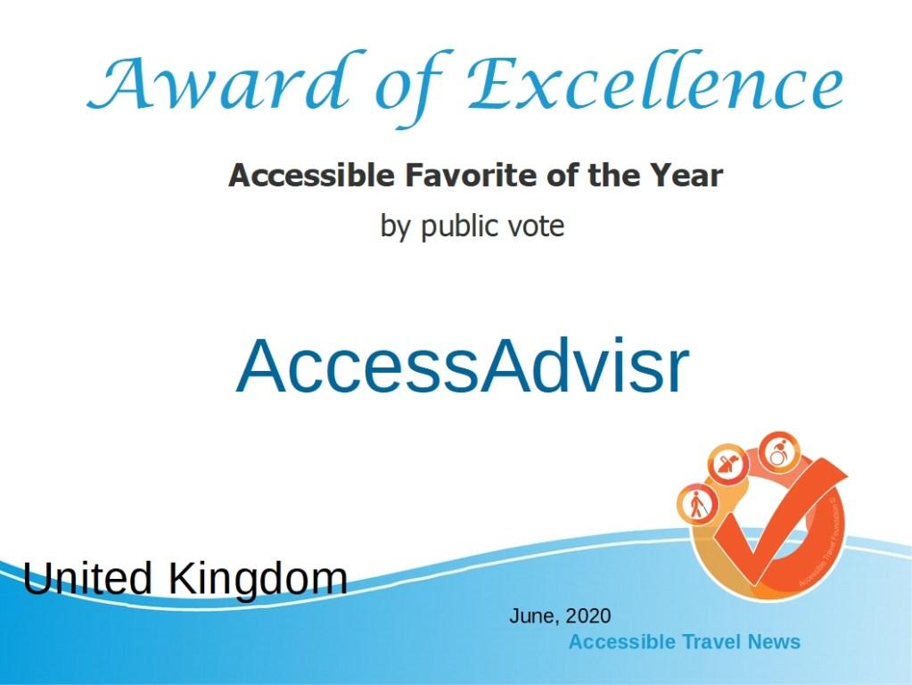 Accessible Favorite by Public Vote - 2020