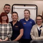 Celtic Manor staff and Ruthy