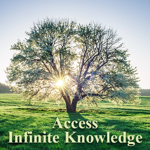 access your infinite knowledge, advanced energy healing