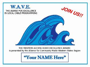 WAVE AWARDS ANNOUNCEMENT