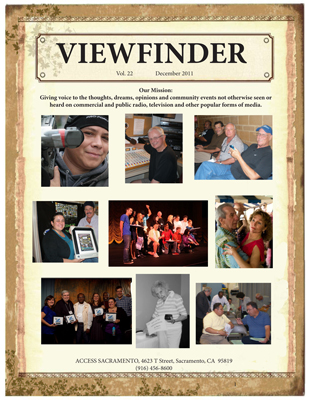 "Watch for ""Viewfinde ""Newsletter – A Year-end Summary of Access Sacramento Activities"