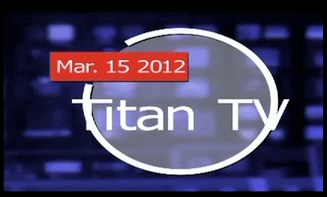 Titan TV for the 15th of March