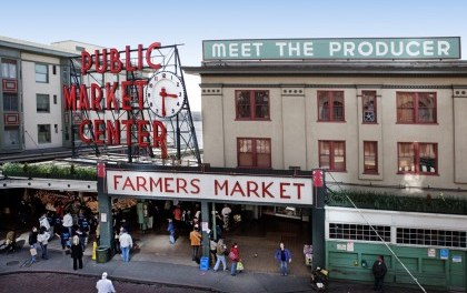 VIDEO: Seattle's famous Pike Place farmer's market