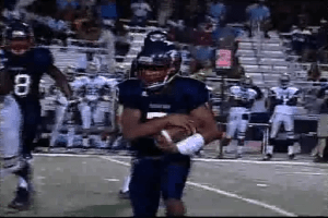 Pleasant Grove Quaterback Deaundre Terrell helps a team effort of 51 plays and 196 yards.