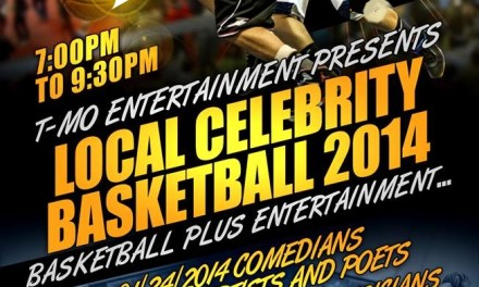 """""""Author, Bill Blaylock and Poet, Terry Moore for Celebrity Basketball on LiveWire"""""""
