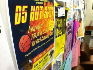 The D5 Hotspot is a recreational program open to adolescents from ages 13-19.