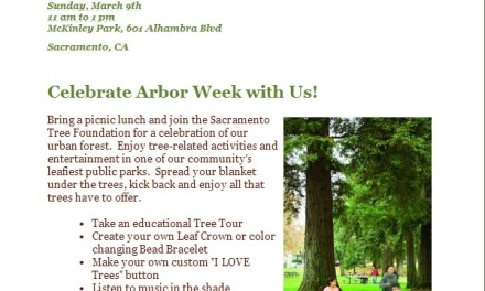 Arbor Week Celebration coming up
