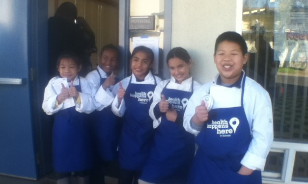 Developing healthy eating habits with Pacific Elementary School