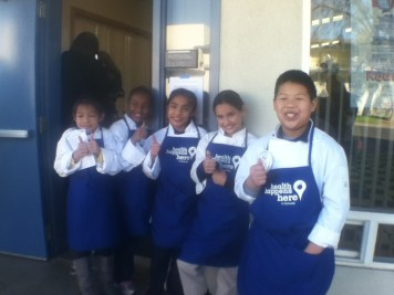 The 5 young chefs that volunteer with the Food Literacy Center