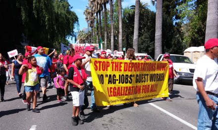 Hundreds March to Continue Cesar Chavez' Cause