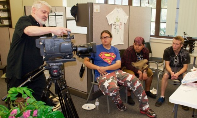 Teens Learn TV Production for Big Event Coverage