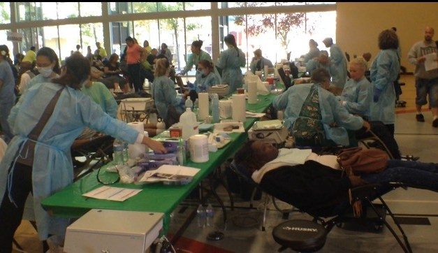 VIDEO: Oak Park Community Gets Free A Free Health Clinic Day