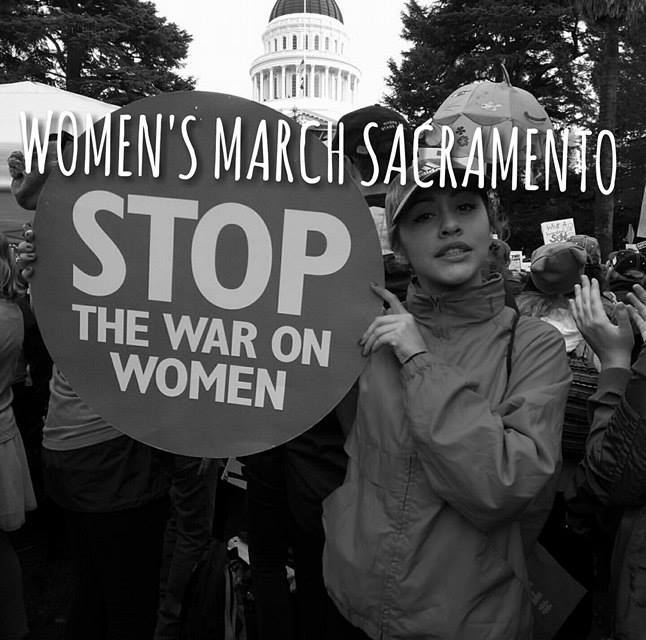 VIDEO: Sacramento Women's March