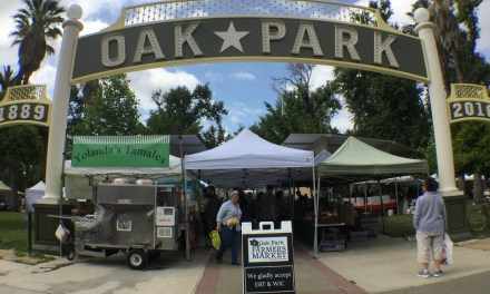 The Oak Park Farmers Market is open for business