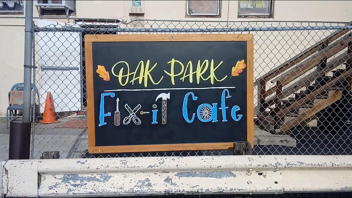 VIDEO: Oak Park Fix-It Cafe