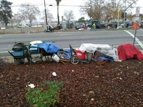 Homeless Sacramentans Cannot Catch a Break—Not Even on Christmas Eve