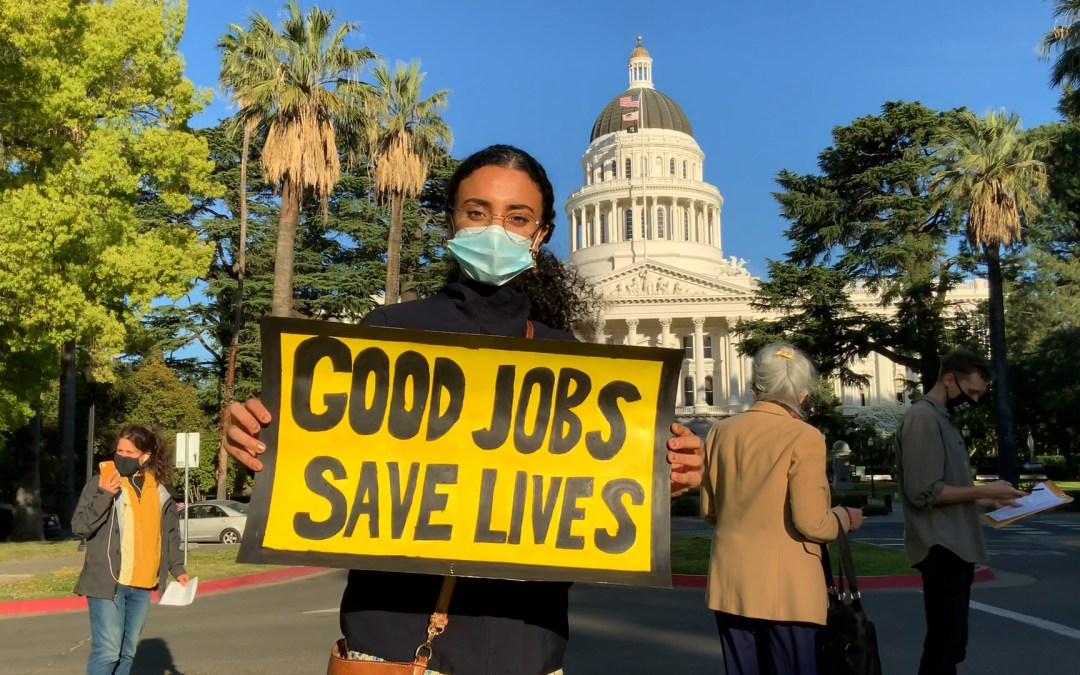 Sunrise Sacramento is Looking to Combat the Climate Crisis with Good Jobs