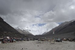 Everest base camp in Tiber