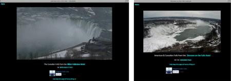 Niagara falls live views