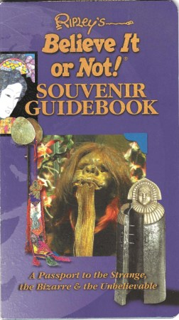 Ripley's Believe It or Not! Souvenir Guidebook 01