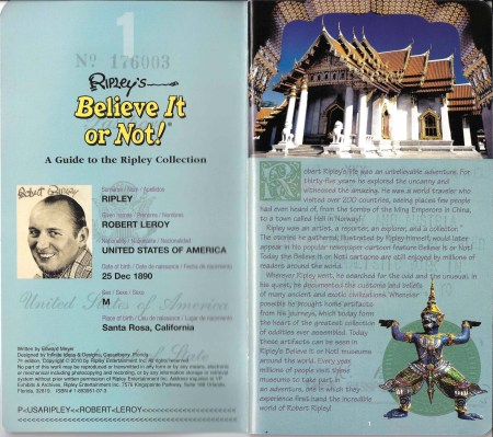 Ripley's Believe It or Not! Souvenir Guidebook 02
