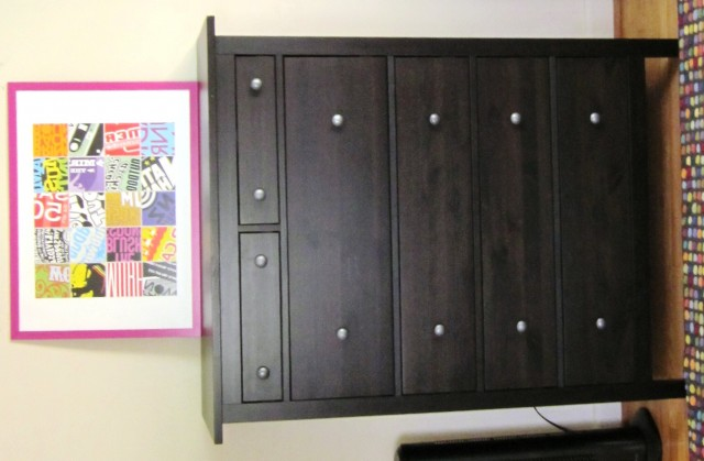Ikea Dark Wood Dresser