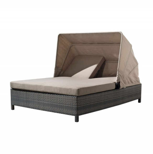 Double Chaise Outdoor Lounger
