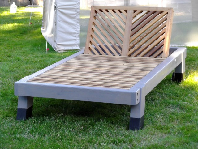 Double Wide Chaise Lounge Outdoor