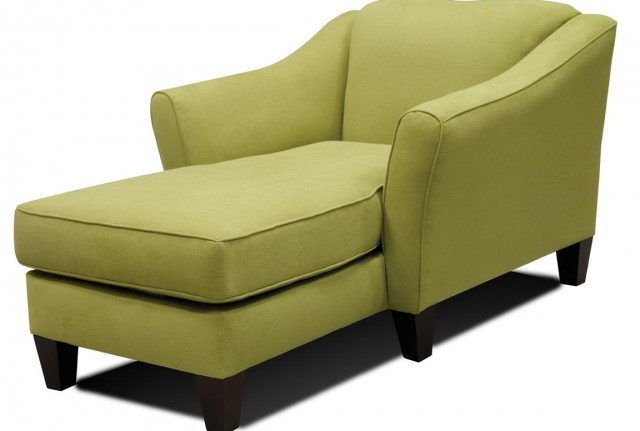 Microfiber Chaise Lounger