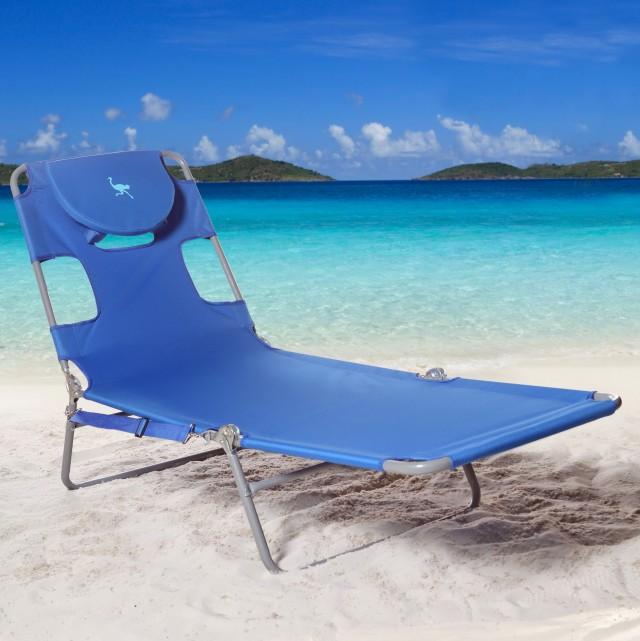 Ostrich Chaise Lounge Beach