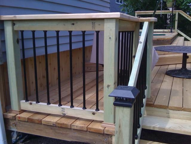 Aluminum Porch Railing Parts