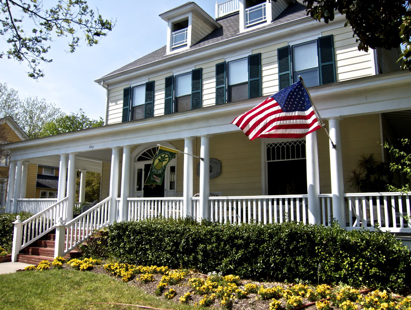 Country House With Wrap Around Porch
