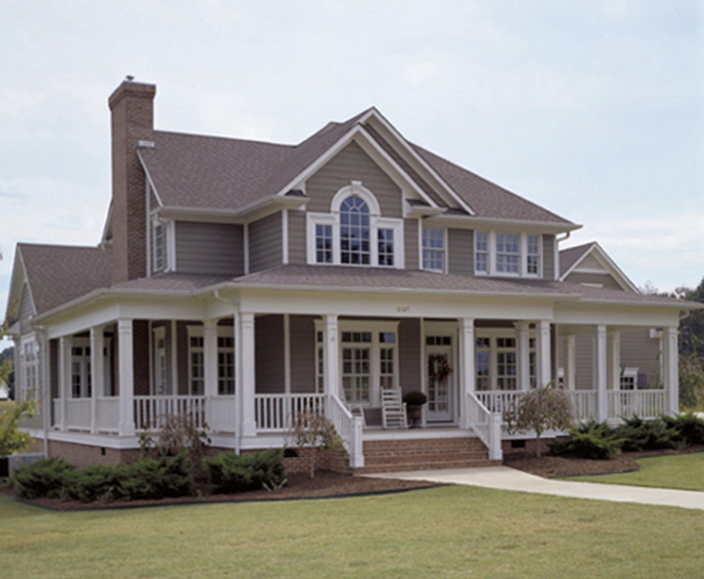 Country Wrap Around Porch House Plans