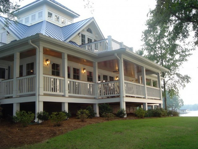 Homes With Wrap Around Porches Plans