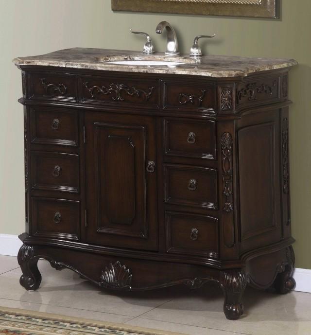40 Inch Bathroom Vanity Cabinet