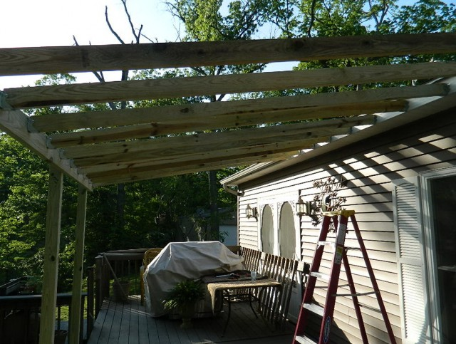 Adding A Porch Roof To A House