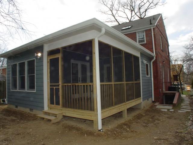 Adding A Porch To A Colonial