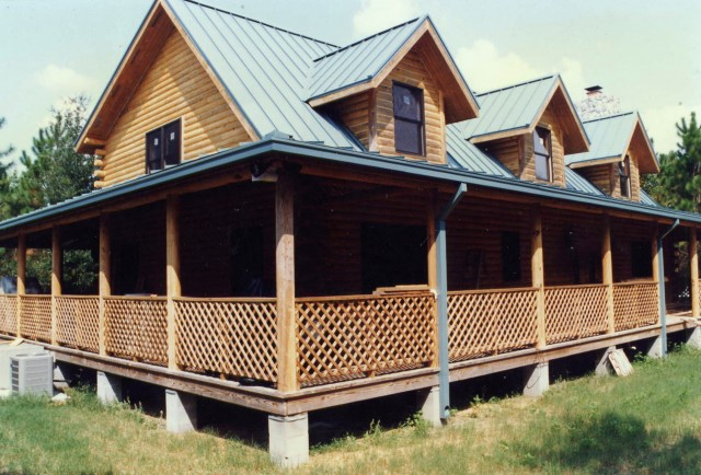Country Home Wrap Around Porch Plans