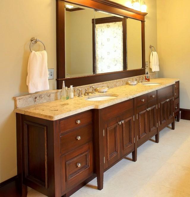 Double Bathroom Vanity Dimensions