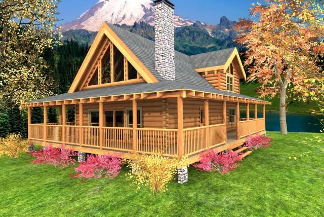 Small Farmhouse Plans Wrap Around Porch