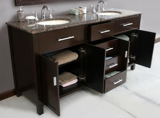 72 Inch Double Sink Vanity Top