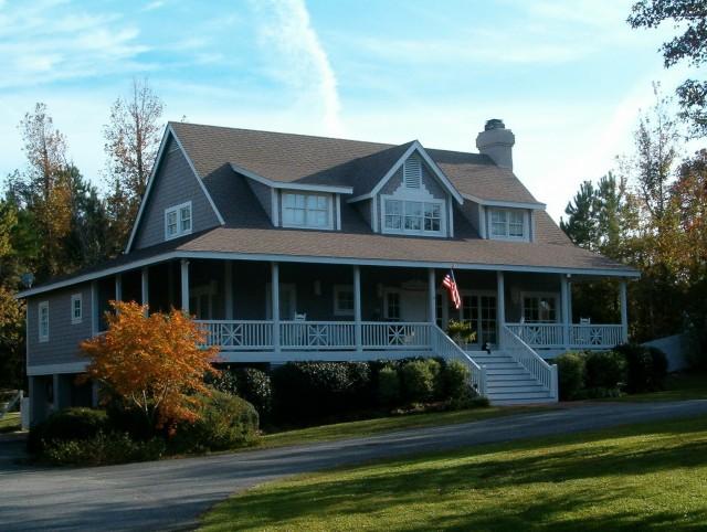 Farmhouse Wrap Around Porch Floor Plans
